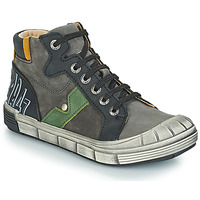 Schuhe Jungen Boots GBB RENZO Nuv / Grau-schwarz / Dpf / 2831