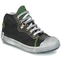 Schuhe Jungen Boots GBB RONALD Schwarz-grün / Dpf / Terrore