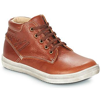 Schuhe Jungen Klassische Stiefel GBB NINO Stein / kaffee / Dpf / 2835
