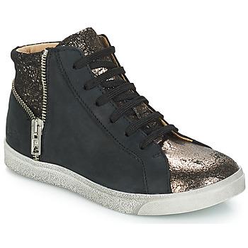 Schuhe Mädchen Sneaker High GBB CARLA Schwarz / Bronze