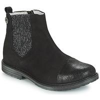 Schuhe Mädchen Boots GBB LEONTINA Schwarz