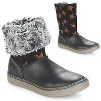 Schuhe Mädchen Klassische Stiefel Achile DUBROVNIK Schwarz