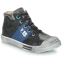 Schuhe Jungen Boots GBB RUFINO Schwarz