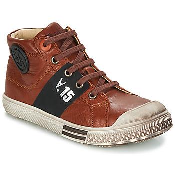 Schuhe Jungen Boots GBB RUFINO Braun