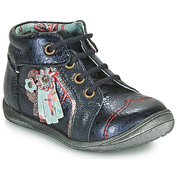 Schuhe Mädchen Boots Catimini RAINETTE Marine / Dpf / Gluck