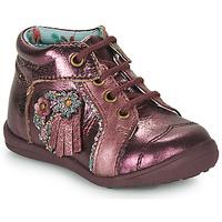 Schuhe Mädchen Boots Catimini RAINETTE Bordeaux