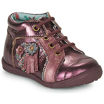 Schuhe Mädchen Boots Catimini RAINETTE Blau grün / Dpf / Gluck