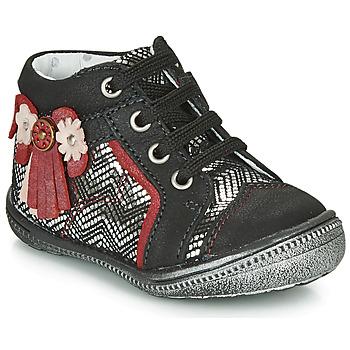Schuhe Mädchen Boots Catimini RHUBARBE Weiss /  / Dpf / 2852