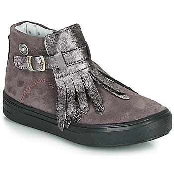 Schuhe Mädchen Boots Catimini RUTABAGA Grün / gelb / schwarz / Rose / Dpf / Vidal