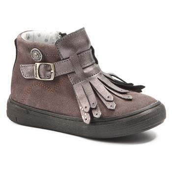 Schuhe Mädchen Boots Catimini RUTABAGA Grün / gelb / schwarz / Rose / Dch / Vidal