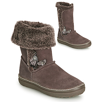 Schuhe Mädchen Klassische Stiefel Catimini ROMA Braun