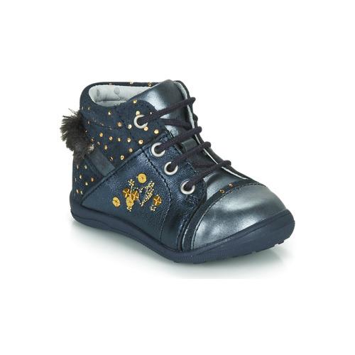 Schuhe Mädchen Boots Catimini ROULETTE Marine