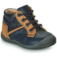 Schuhe Jungen Boots Catimini RATON Marine-ocker / Dpf / Kimbo