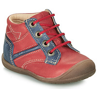 Schuhe Jungen Boots Catimini RATON Rot / Marine