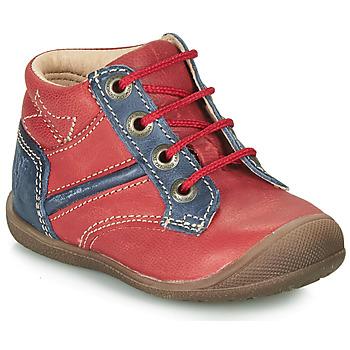 Schuhe Jungen Boots Catimini RATON Rot-marine / Dpf / Kimbo