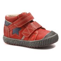Schuhe Jungen Boots Catimini RADIS Rot-marine / Dpf / Linux