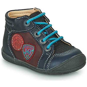Schuhe Jungen Boots Catimini REGLISSE Marine-bordeau / Dpf / Kimbo