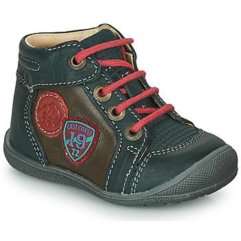 Schuhe Jungen Boots Catimini REGLISSE Kiefer-braun / Dpf / Kimbo
