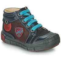 Schuhe Jungen Boots Catimini ROCOU Marine-bordeau / Dpf / 2831