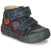 Schuhe Jungen Boots Catimini ROMARIN Marine-bordeau / Dpf / 2831
