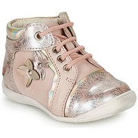 Schuhe Mädchen Boots GBB SONIA Rosa-bedruckt / Dpf / Kezia