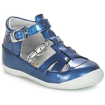 Schuhe Mädchen Sandalen / Sandaletten GBB SARAH Vvn / Blau-bedruckt / Dpf / Kezia