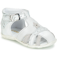 Schuhe Mädchen Sandalen / Sandaletten GBB SUZANNE Grau-gold / Dpf / Zabou