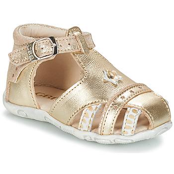 Schuhe Mädchen Sandalen / Sandaletten GBB SUZANNE Gold