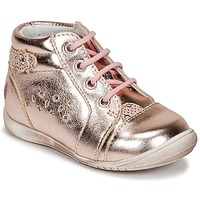 Schuhe Mädchen Sneaker Low GBB SIDONIE Rose / Goldfarben