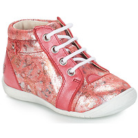 Schuhe Mädchen Boots GBB SIDONIE Black lizard / patent