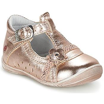 Schuhe Mädchen Ballerinas GBB SIXTINE Rose / Goldfarben