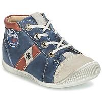 Schuhe Jungen Sneaker Low GBB SILVIO Marine / Braun
