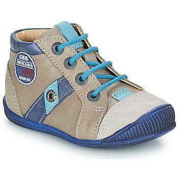 Schuhe Jungen Boots GBB SILVIO Maulwurf-blau / Dpf / Raiza