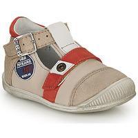 Schuhe Jungen Sandalen / Sandaletten GBB STANISLAS Beige-rot / Dpf / Raiza