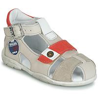 Schuhe Jungen Sandalen / Sandaletten GBB SULLIVAN Beige-rot / Dpf / Filou