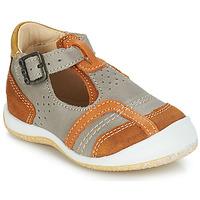 Schuhe Jungen Sandalen / Sandaletten GBB SIGMUND Maulwurf / Cognac