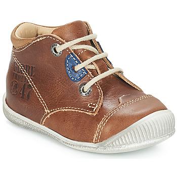 Schuhe Jungen Boots GBB SAMUEL Stein / kaffee / Dpf / Raiza