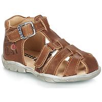 Schuhe Jungen Sandalen / Sandaletten GBB PRIGENT Braun