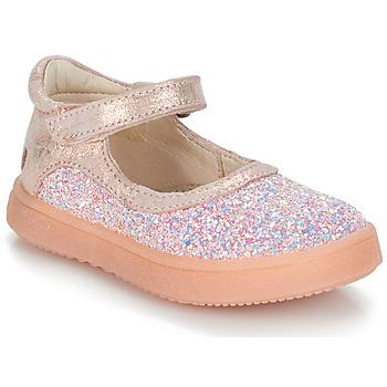 Schuhe Mädchen Boots GBB SAKURA Svt / Rose / Dpf / Dinner