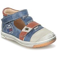 Schuhe Jungen Sandalen / Sandaletten GBB SOREL Marine / Braun