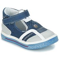Schuhe Mädchen Ballerinas GBB SALVADORE Blau / Grau