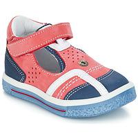 Schuhe Jungen Sandalen / Sandaletten GBB SALVADORE Rot / Blau