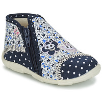Schuhe Mädchen Hausschuhe GBB PILI Blau / Weiss