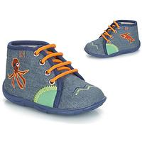 Schuhe Jungen Hausschuhe GBB PABLITO Ttx / Marine / Dtx / Amis
