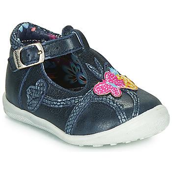 Schuhe Mädchen Boots Catimini SOLEIL Marine / Dpf / Gluck