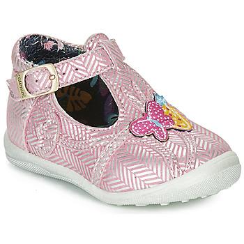 Schuhe Mädchen Boots Catimini SOLEIL Rosa-silber / Dpf / Gluck
