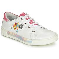 Schuhe Mädchen Sneaker High Catimini SYLPHE Gelb / rosa / Dpf / Weiss