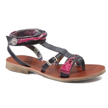 Schuhe Mädchen Sandalen / Sandaletten Catimini SABRALIA  marine-fuchsia / Dpf / Coca
