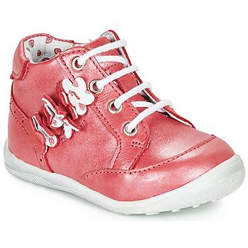 Schuhe Mädchen Boots Catimini SOLDANELLE Rot