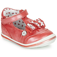Schuhe Mädchen Sandalen / Sandaletten Catimini SANTOLINE Rot / Perlmut / Dpf / 2851